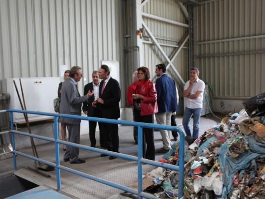 Provoz anaerobní digesce přeměnuje organický odpad na elektrickou energii