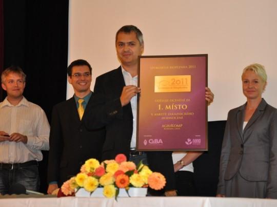 Anketa Spokojená bioplynka 2011 zná svého vítěze