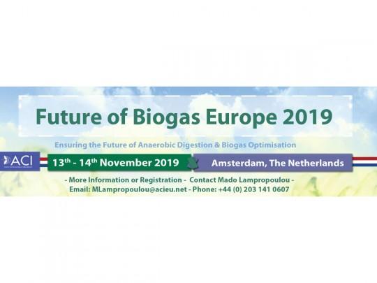 Sleva pro členy CzBA na konferenci Future of Biogas 2019