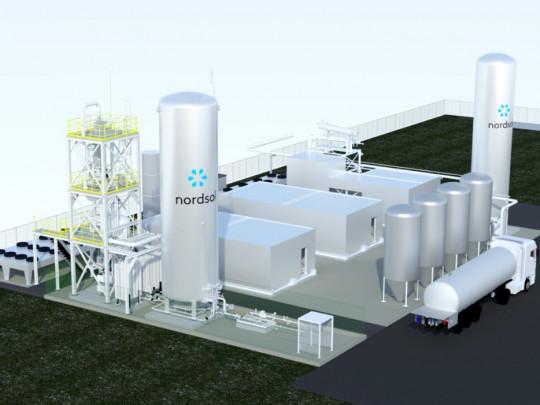 První instalace bio-LNG v Holandsku